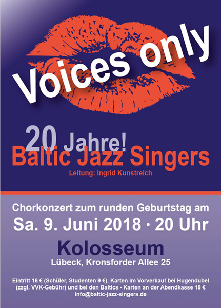 voices only baltic jazz singers © Susanne Adler