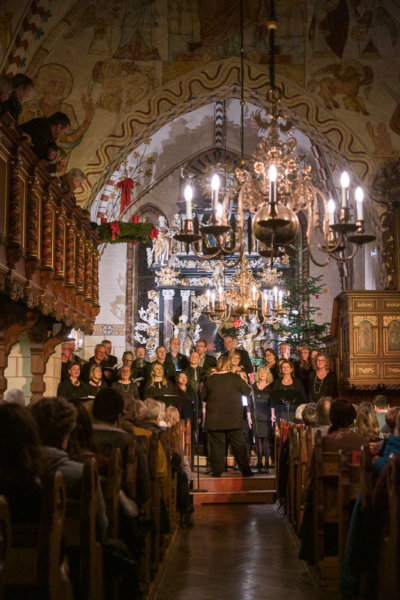 Lübecker Jazz-Chor, Weihnachtskonzert in Berkenthin