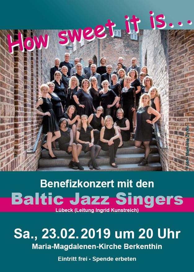 A cappella Chor • Baltic Jazz Singers • Pop, Jazz Chor in Lübeck - Gestaltung: Susanne Adler
