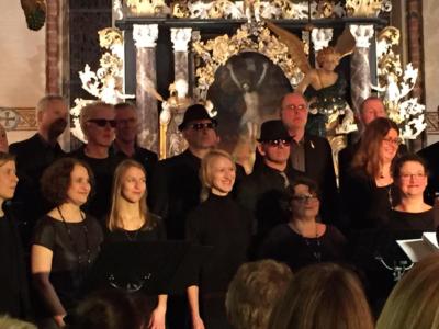 Baltic Jazz Singers Benefizkonzert in Berkenthin