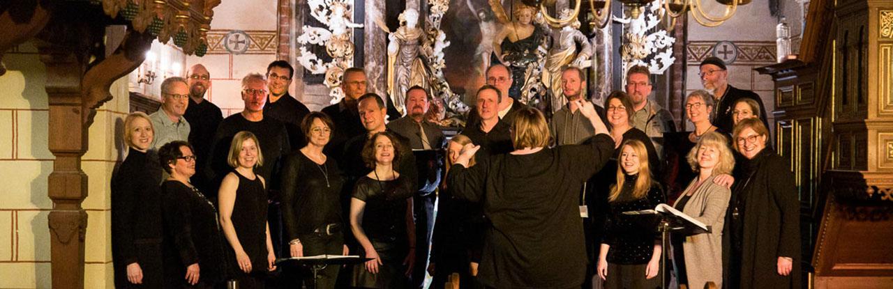 Chorfoto Baltic Jazz Singers aus Lübeck in Berkenthin