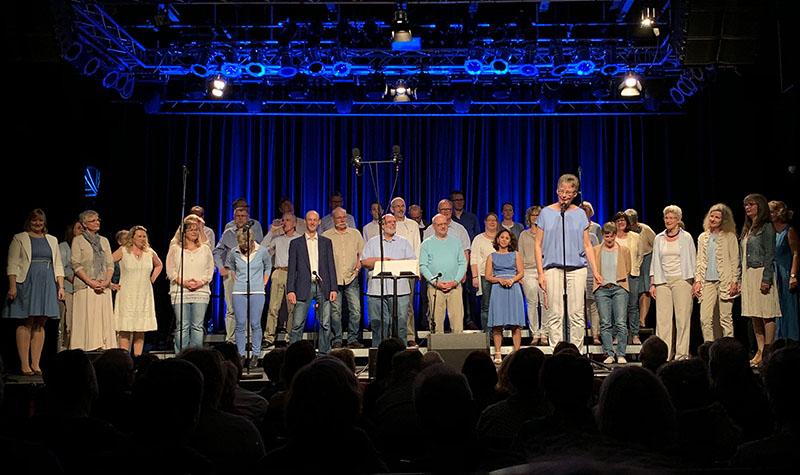 CantaMare auf der Bühne Pumpwerk Wilhelmshaven