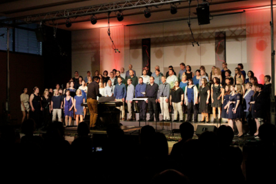 SurpriSing trifft die baltic jazz singers