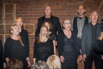 50 Jahre Kirche Bargfeld Stegen! Baltic Jazz Singers singen