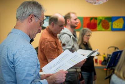 Baltic Jazz Singers Sonderprobe vor dem Voices only 2020