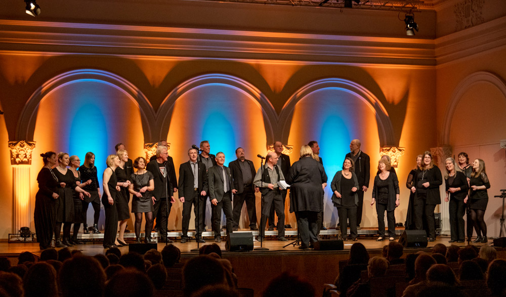 "8. Voices only mit ""Pop-Up"" aus Detmold und den Baltic Jazz Singers aus Lübeck"