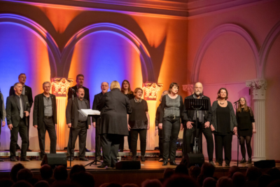 """8. Voices only mit """"Pop-Up"""" aus Detmold und den Baltic Jazz Singers aus Lübeck"""