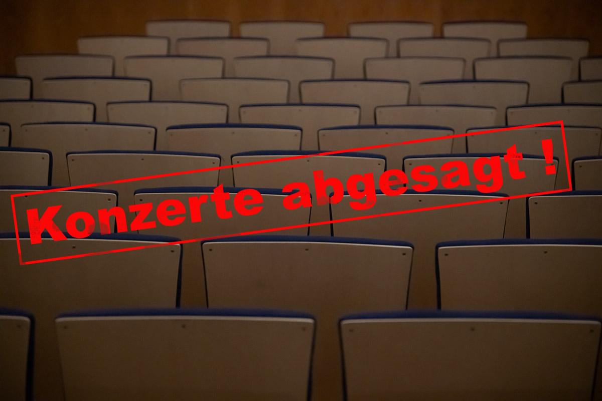 Konzertabsage Baltic Jazz Singers